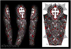 Some of mine full sleeve designs.