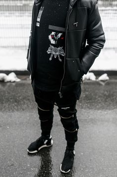 """admirableco: """"Wolf Crewneck, WOLF TOWN Collection, available at www.admirable.co """""""