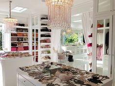 Celebrity closet.