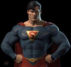 Mundo Superman, Superman Family, Superman Man Of Steel, Superman Comic, Dc Comics Heroes, Dc Comics Art, Marvel Dc Comics, Clark Kent, Action Comics