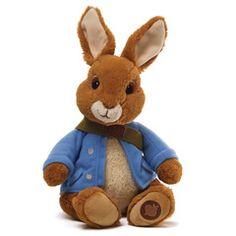 "Peter Rabbit plush 11"" $22"