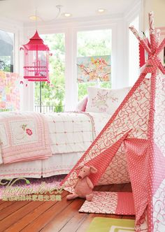 "Handed down ※ American Whistle & Wink ""China Doll - Peony Pavilion"" Children's Bedding Kit - Taobao"