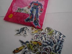 100 Mini Transformer Stickers Party bag filler | eBay