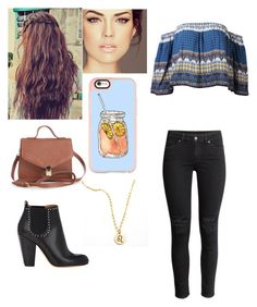 """""""Untitled #397"""" by gabrielarent ❤ liked on Polyvore featuring H&M, Givenchy, Forever 21 and Casetify"""