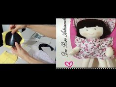 Final steps before stuffing a rag doll (Rag Doll Making: Part Learn about doll making with tips from Anneli Võikar in this free doll making video. Dolls b. Fabric Doll Pattern, Fabric Dolls, Primitive Doll Patterns, Tiny Dolls, Purse Patterns, Kids Bags, Felt Dolls, Diy Toys, Felt Crafts