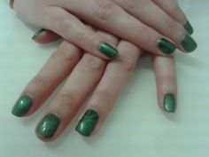 Gelish magneto nails.  By Felicity Burgess - Young at Belle Dame Nails.
