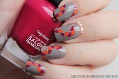 Very Emily  #nail #nails #nailart