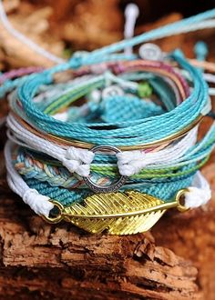Awesome... These bracelets are made by artisans in Costa Rica. Eco friendly & empowering!