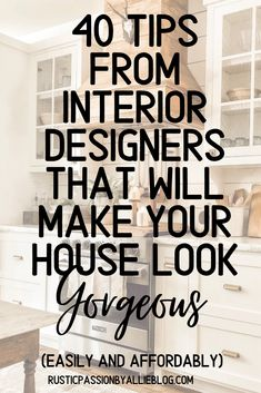 40 hacks from interior designers that will make your house look gorgeous. - If you are looking for home decor ideas look no further. These DIY videos and tutorials will help y - Interior Design Blogs, Interior Design Instagram, Beautiful Interior Design, Beautiful Interiors, Interior Design Inspiration, Home Design Blogs, Library Inspiration, Interior Styling, Color Inspiration