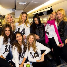 Final boarding call for the 2014 #VSFashionShow! Tune in 12/9, 10/9C on #CBS.
