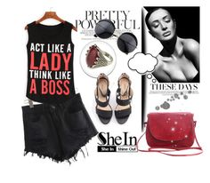"""""""Shein 7"""" by fashion-addict35 ❤ liked on Polyvore"""