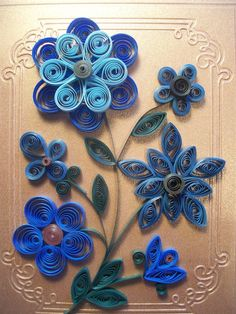 Quilling | http://weddingcardtemplates.blogspot.com