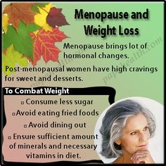 Menopause and Weight Loss: The Journey of Elder Women towards Healthy Body