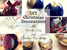 With DIY Christmas decorations, you get to create pieces that are perfect for the theme you had in mind. Read from our blog to see how Jennifer Lutz made her own ornaments.