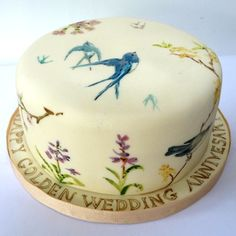how to hand paint cakes