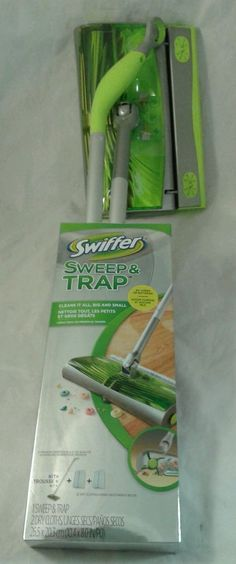 Swiffer Sweep and Trap Sweeper New in Box #Swiffer