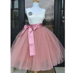 be4739e7796e8 6Layers 65cm Fashion Tulle Skirt Pleated Tutu Skirts Womens Lolita  Petticoat Bridesmaids Vintage Midi Skirt Jupe Saias faldas