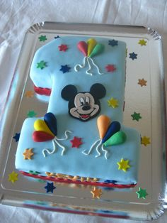 20161211 gâteau Mickey chiffre 1 (20)