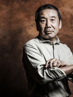 Haruki Murakami. I like the composition here and the strong shadowing.