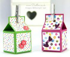 Super Tiny Box Tutorial using Stampin' Up! Supplies