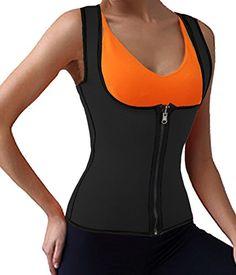 DODOING Women Slimming Shirt Compression Vest for Weight Loss Neoprene Sauna Tank Top