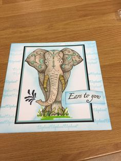 Lavinia Stamps, Ink Stamps, Animal Cards, Elephants, Handmade Cards, Dragons, Card Ideas, Card Making, Mary