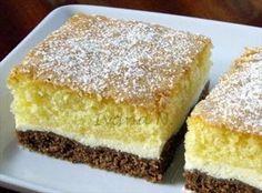 Obrázek z Recept - Tříbarevný koláč High Sugar, Kefir, Cornbread, Vanilla Cake, Nutella, French Toast, Food And Drink, Gluten, Cooking Recipes