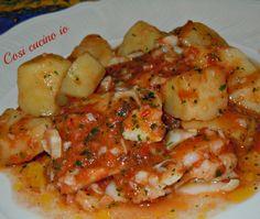 Merluzzo e patate, ricetta secondi piatti