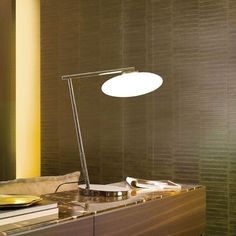 Mami Large Table Lamp by PENTA Penta contemporary lighting is designed with a driving philosophy that great lighting is a delicate balance between atmosphere and functionality. Merging architectural elements and essential forms. Guest Bedroom Decor, Table Lamps For Bedroom, Bedroom Ideas, Large Table Lamps, Light Table, Cool Tables, Small Tables, Living Room Lighting Design, Contemporary Table Lamps