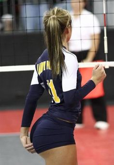 Flashing ass on fitness ball