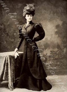 La moda que llegaba a las tiendas de Lima a principios del año 1900