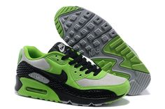 sale retailer 4c00f 70960 Nike Air Max 90 Premium Snake Poison Green Black Black Neutral Grey Men s  Shoes  cheap