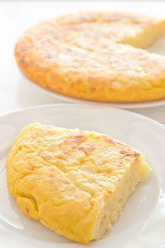 Receta de Tortilla de Patatas Vegana   danzadefogones.com