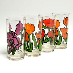 '70s Flower Glasses, $42, now featured on Fab.