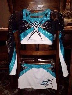 pretty: new uniforms for Cheer Extreme SJX