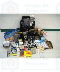 Bug Out Bag - Ultimate  http://www.thepreppersvault.com/survival-kits/bug-out-bags-kits/bug-out-bag-ultimate.html