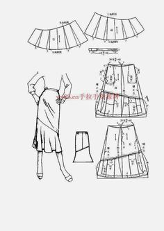 Chinese method of pattern making - skirts - SSvetLanaV - Álbumes web de Picasa