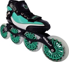 Vanilla Empire Inline Speed Skates Vanilla Empire Inline Speed Skates Great racing skate at a great price. •Boot: Carbon fiber, heat-moldable boots. •Frames: 7000 Series aluminum frames with a 4x100mm set-up. •Wheels: 100mm 85A Indoor/Outdoor wheels.  www.buyskatesonline.com