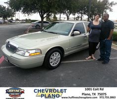 #HappyAnniversary to Francis Johnson on your 2005 #Mercury #Grand Marquis from Eric Stovall at Huffines Chevrolet Plano!