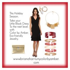 """The Little Black Dress"" by breezybh on Polyvore featuring Anne Klein and Golden Goose"