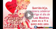 Happy Birthday Greetings, Spanish Quotes, Movie Posters, Image, Board, Amor, Poem For Mother, Life, Letter To My Mother