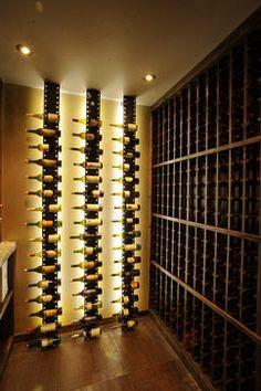 White Water - contemporary - wine cellar - denver - Amaron Folkestad GC Steamboats Builder