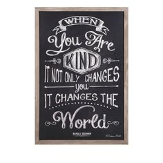 Kindness Changes Wall Art