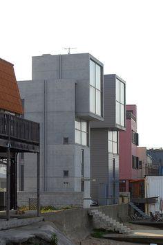 4x4 House 4×4の家 Ⅰ・Ⅱ 写真一覧/安藤忠雄Tadao Ando