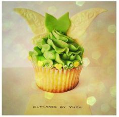 Tinkerbell Cupcakes By YuYu #PeterPan