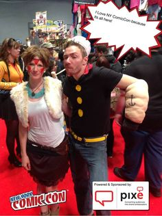 I Love NY ComicCon because its all here! #NYCC #PixeSocial