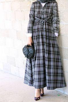 Jorien Checkered Dress