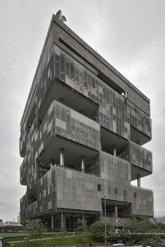 Petrobras Headquarters | 1968 | Rio de Janeiro, Brazil | Roberto Gandolfi & José Sanchotene & Burle Marx