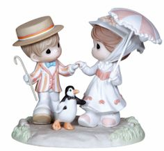 disney Precious Moments figurines | New Precious Moments Disney Figurine Mary Poppins Statue Holiday ...