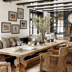 Dining Room: Architectural Digest